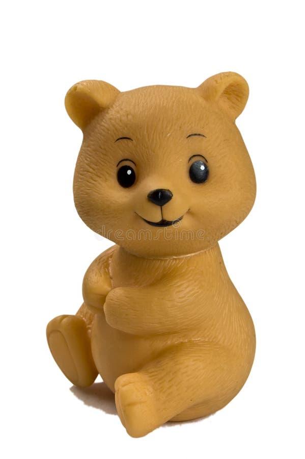 塑料玩具熊 免版税库存照片