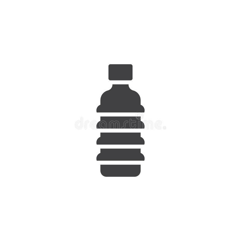 塑料瓶传染媒介象 向量例证