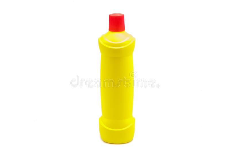 塑料瓶清洁产品 库存图片