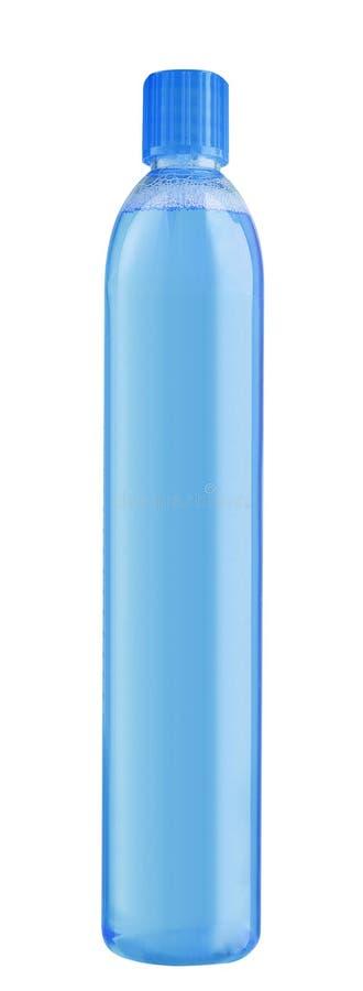 塑料瓶装水容器隔绝了 免版税库存图片