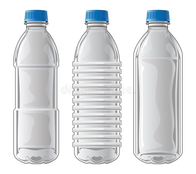 塑料瓶 库存例证