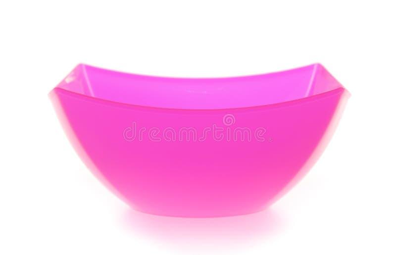 塑料碗 图库摄影
