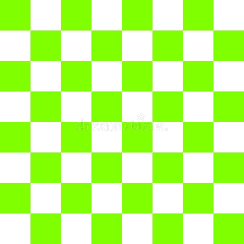 塑料绿色棋盘传染媒介 向量例证