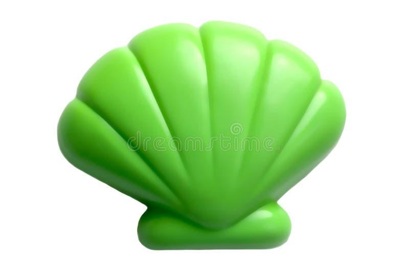 塑料贝壳玩具 库存图片