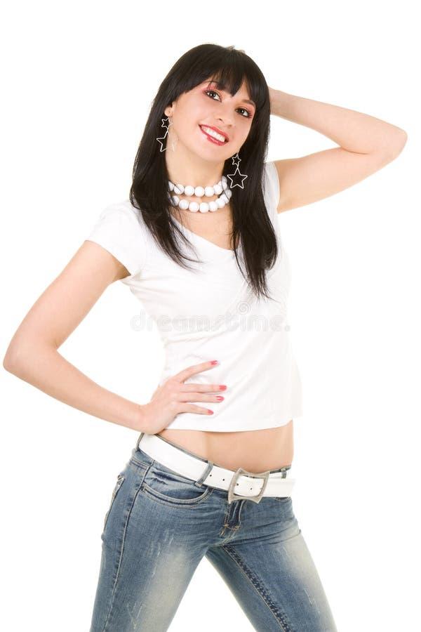 塑造妇女 免版税库存照片