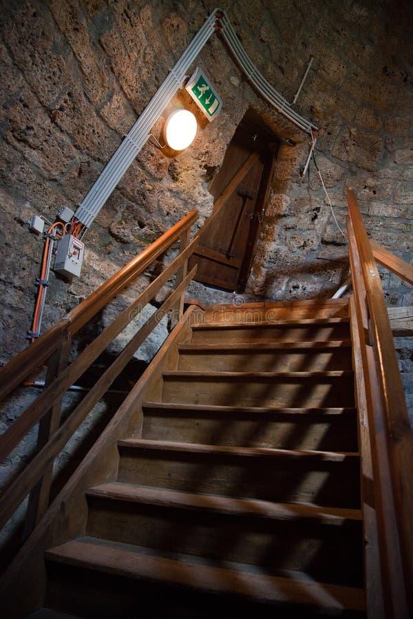 塔上升的Camburg 免版税库存照片