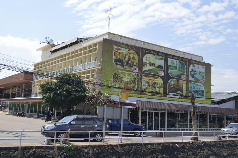 塔克西拉旅馆在玛哈Sarakham市 免版税库存照片