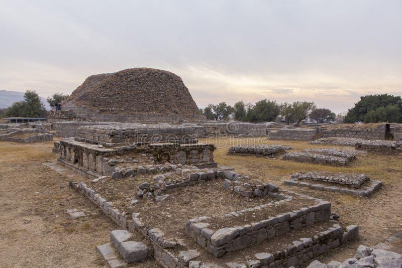 塔克西拉遗产在巴基斯坦 库存图片