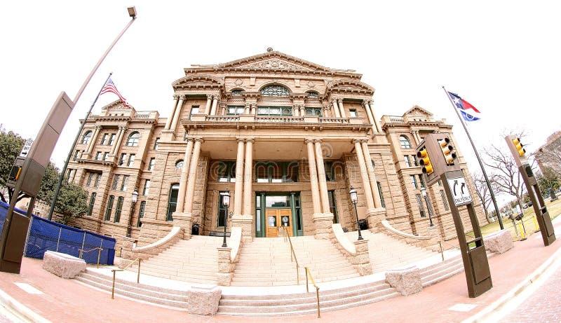 塔兰特县法院大楼,沃思堡得克萨斯 免版税库存图片