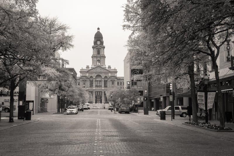 塔兰特县法院大楼 免版税库存照片