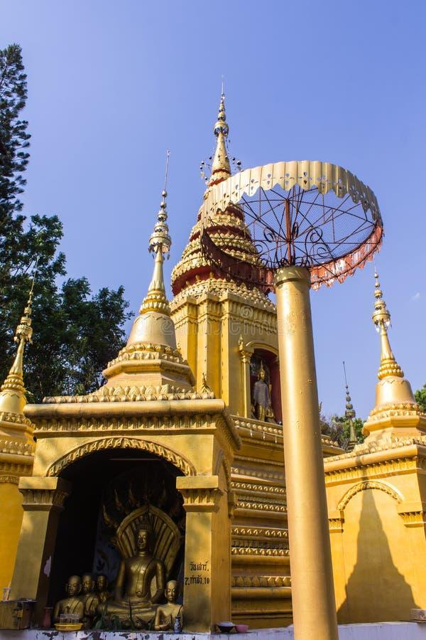塔单样式在Pai, Maehongson泰国 免版税图库摄影