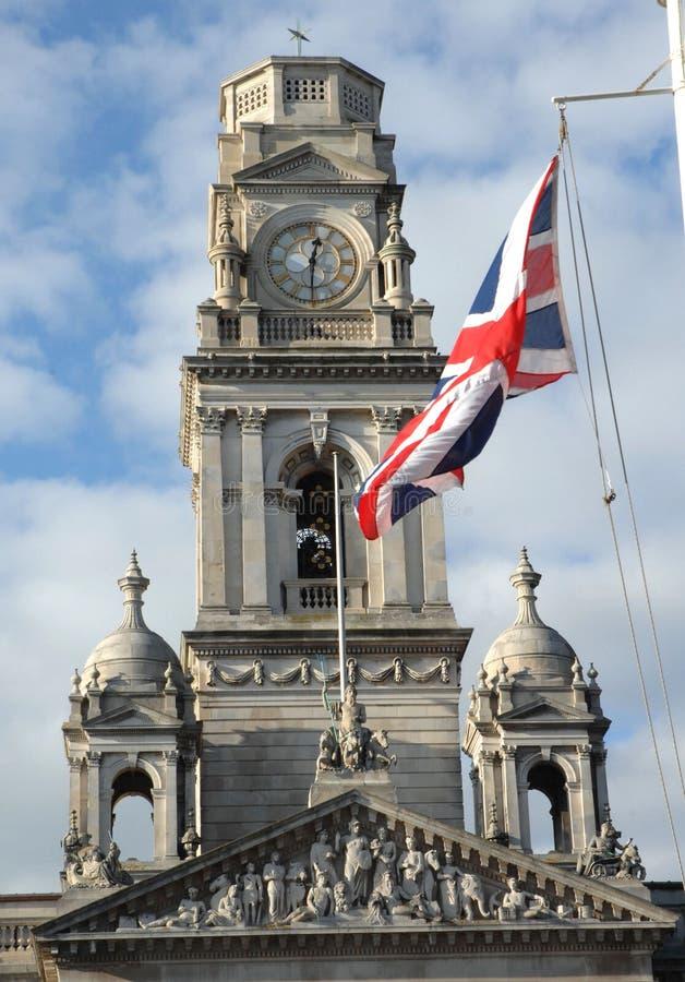 塔和标志 库存照片