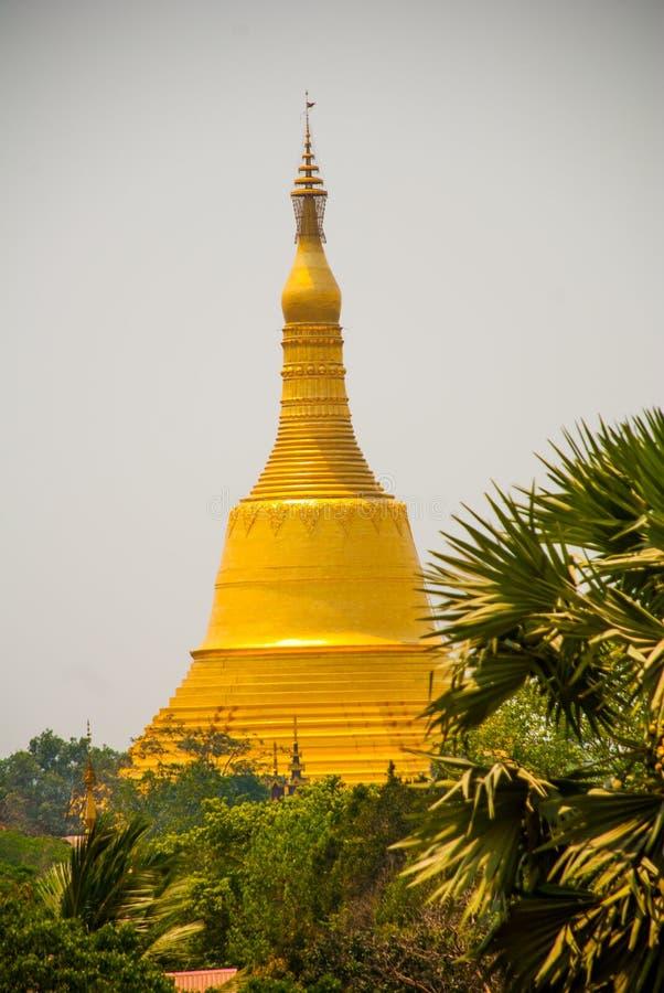 塔在Bago, Pegu镇  缅甸 缅甸 免版税库存照片