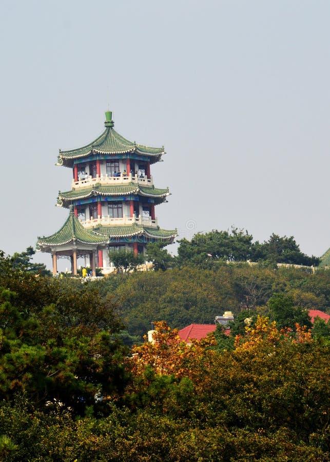 塔大厦 图库摄影