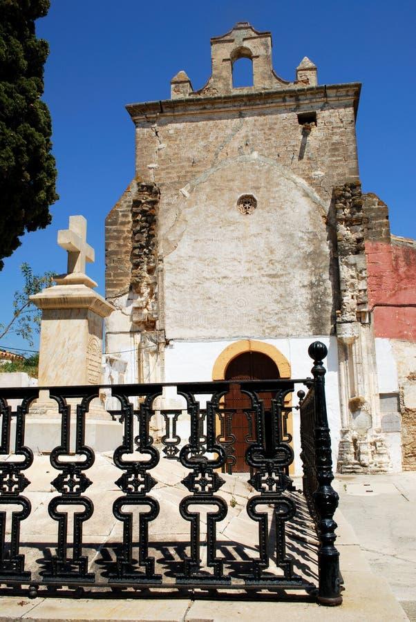 塔小山教会,阿洛拉 免版税库存照片