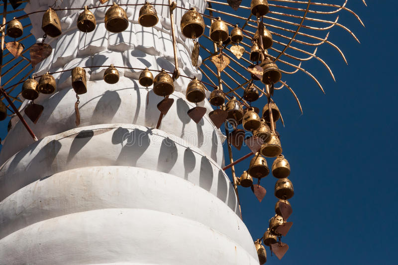 塔尖顶在Kakku 库存图片