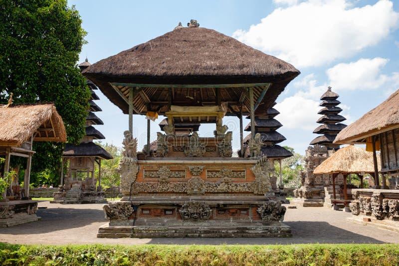 塔曼Ayun寺庙的主要密室 免版税库存照片