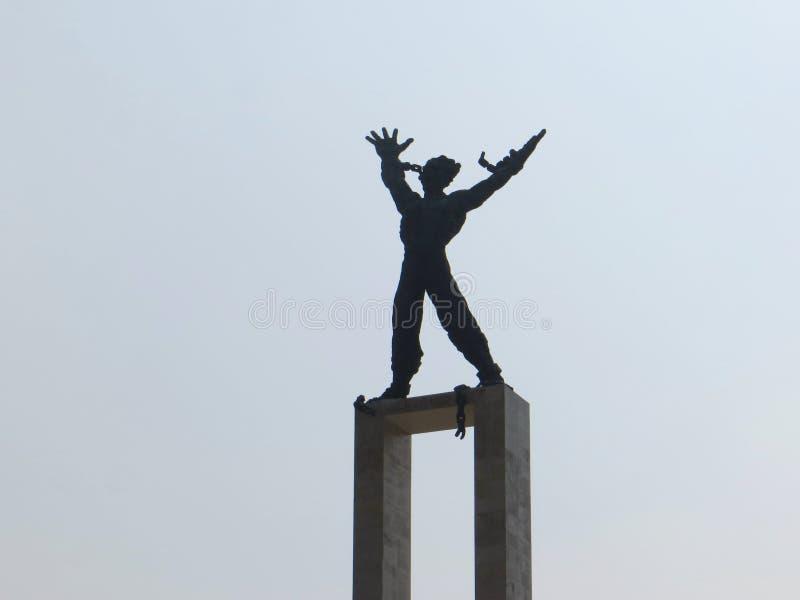 塔曼Lapangan Banteng,雅加达 库存图片