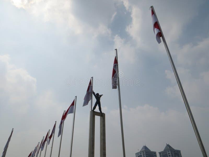 塔曼Lapangan Banteng,雅加达 免版税库存照片