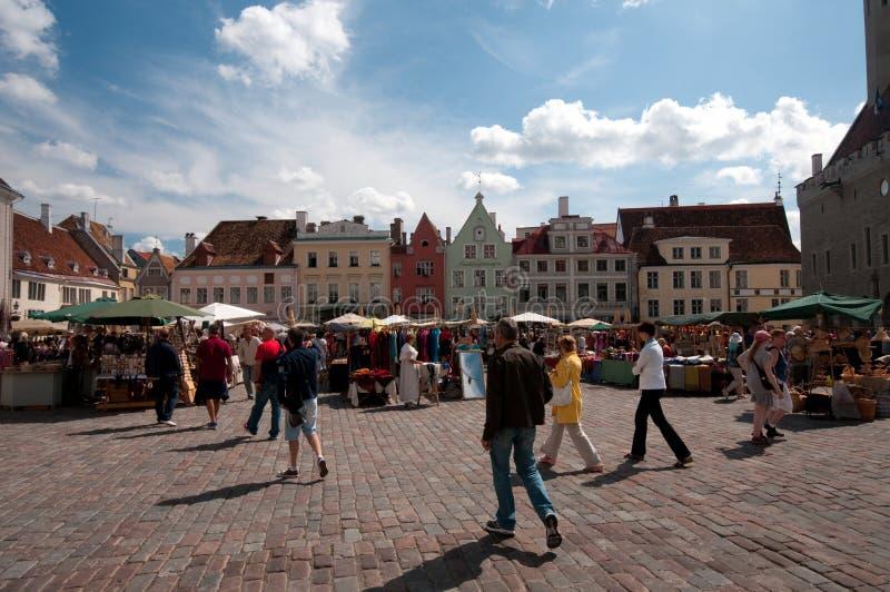 塔林,爱沙尼亚 免版税库存照片