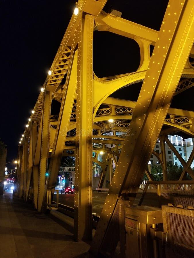 塔桥梁,萨加门多,加州,美国 免版税库存图片