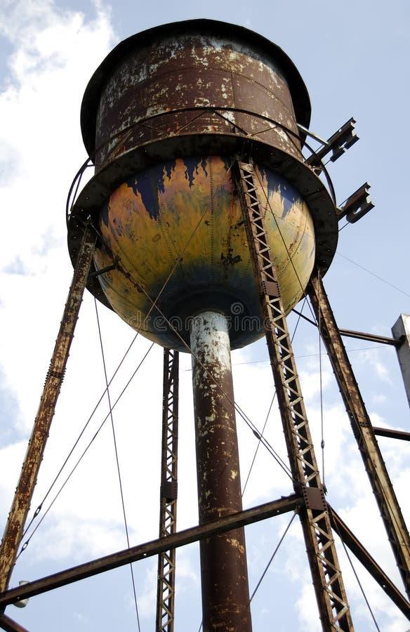 塔水 库存图片