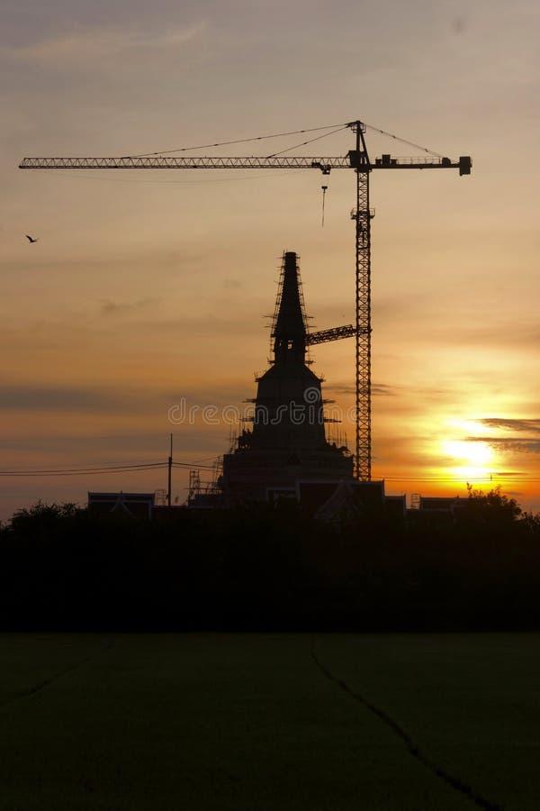 塔的建筑 库存图片