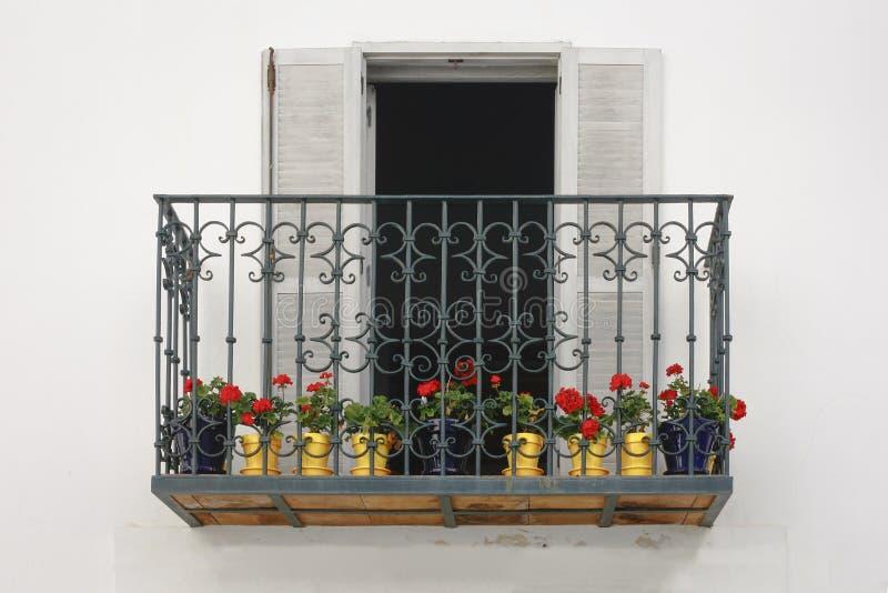 从塔里法角的阳台 免版税库存照片