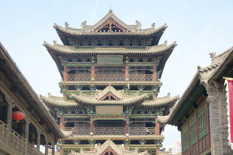 塔顶楼 免版税库存照片