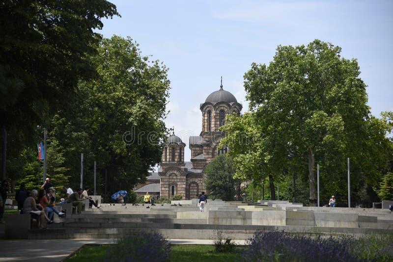 塔马丹公园圣马克教堂 免版税库存图片