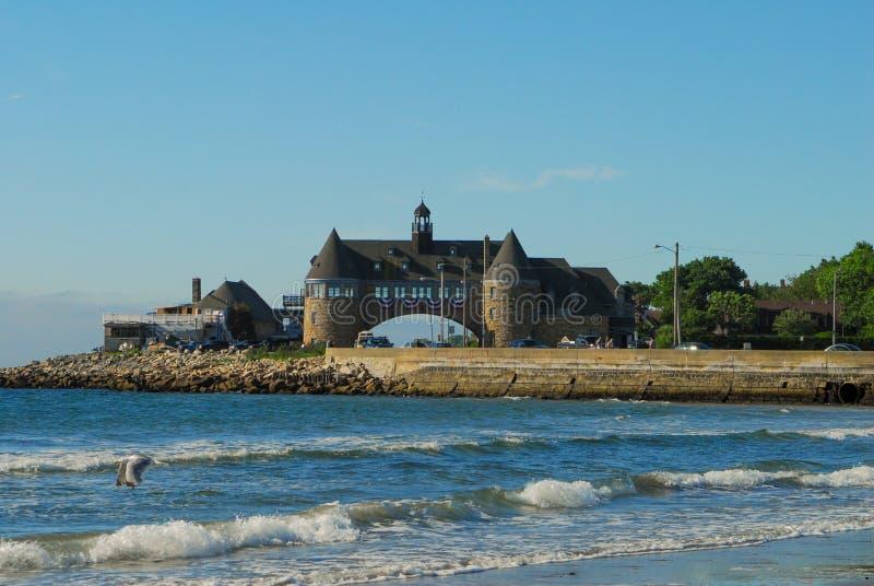 塔, Narragansett,罗德岛州 库存图片