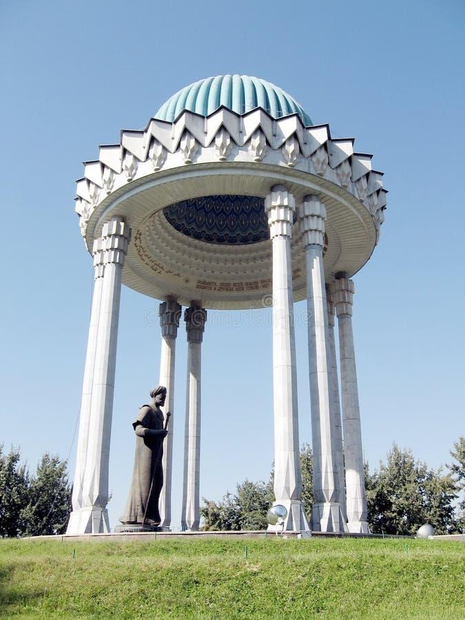 塔什干Almazar Navoi纪念品2007年 免版税库存图片
