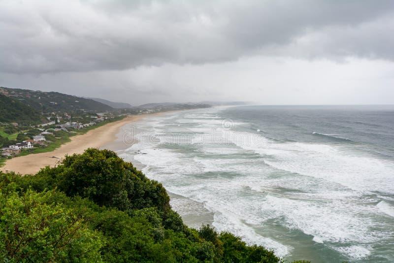 塞奇菲尔德海湾在南非 免版税库存照片