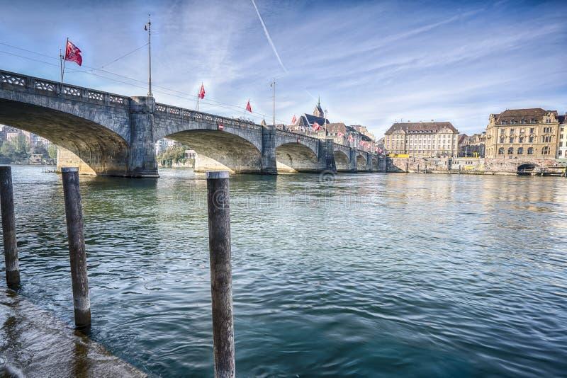 巴塞尔市瑞士 库存图片