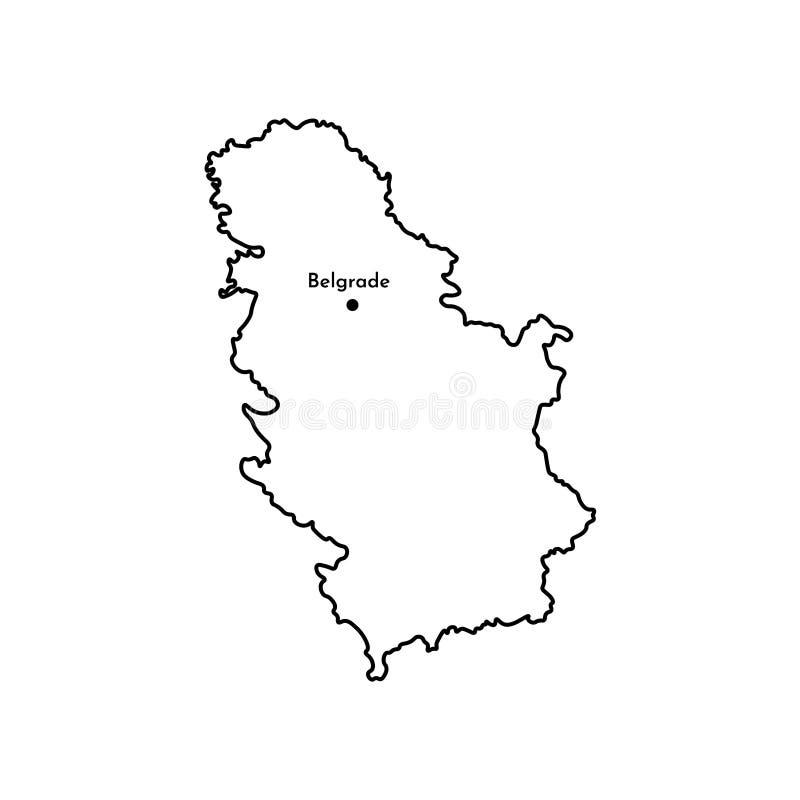 塞尔维亚2 库存例证