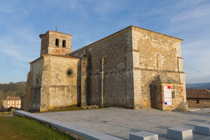 塞尔韦拉德皮苏埃尔加教会  帕伦西亚 西班牙 库存图片