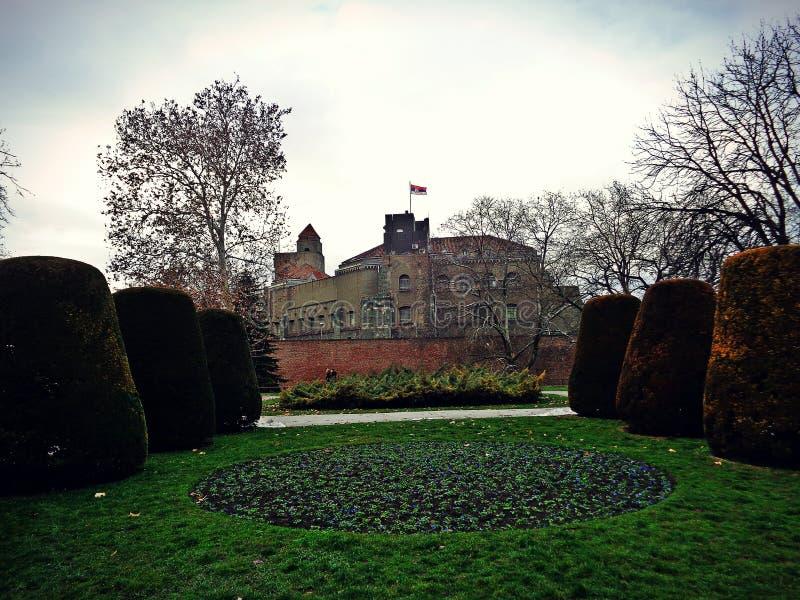塞尔维亚城堡 免版税图库摄影