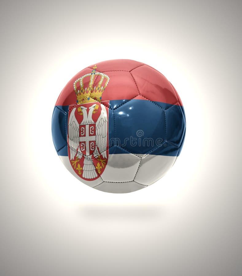 塞尔维亚橄榄球 库存例证