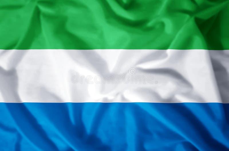 塞拉利昂 向量例证