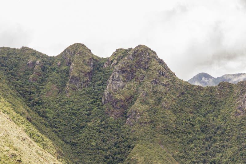塞拉横渡巴西的Fina 免版税库存照片