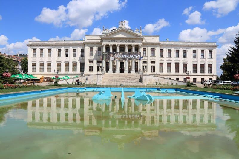 塞格德博物馆,匈牙利 免版税库存图片