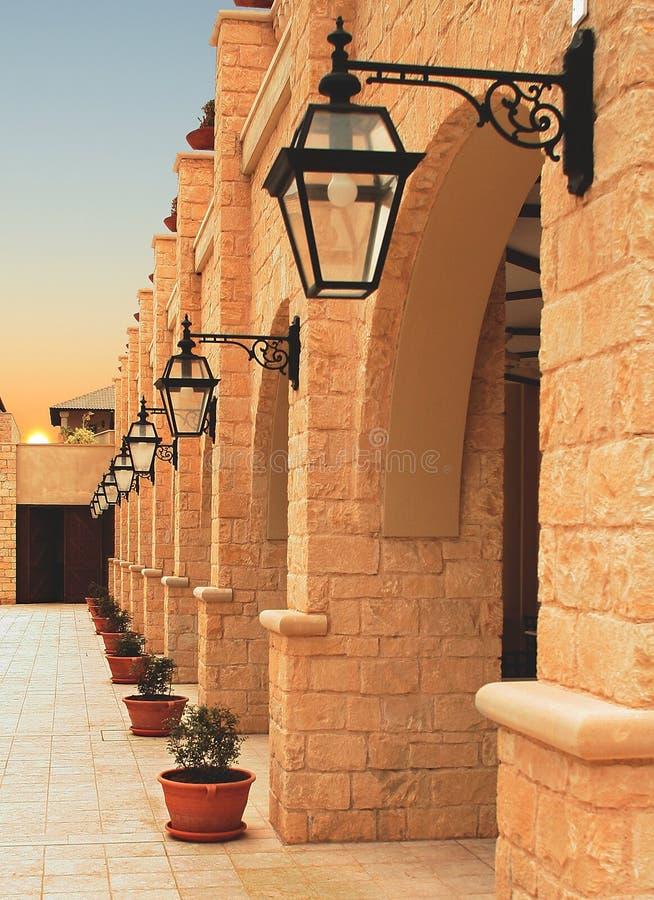 塞浦路斯旅馆 图库摄影