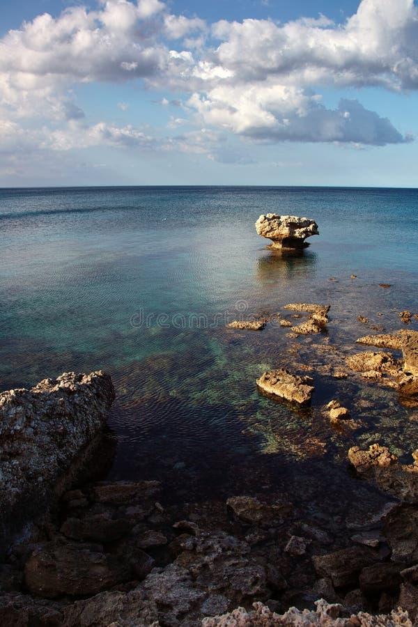 塞浦路斯的海运 免版税库存照片