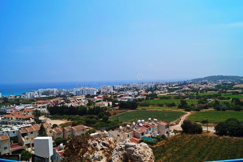 塞浦路斯的高度 库存图片