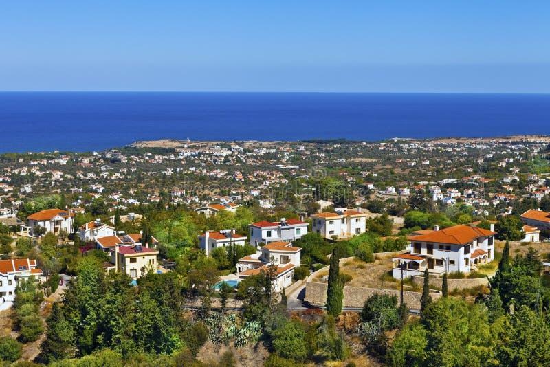塞浦路斯风景。 免版税库存图片
