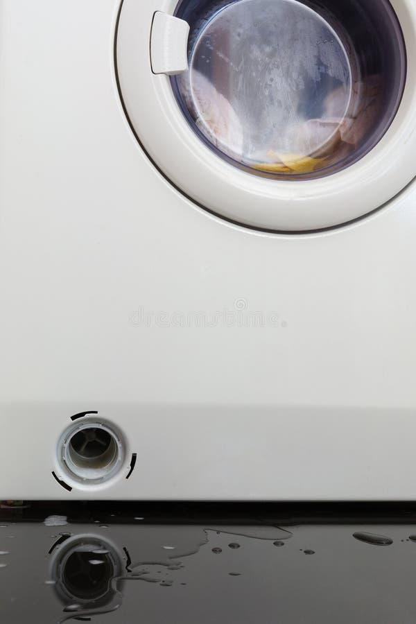 阻塞的洗衣机 库存照片