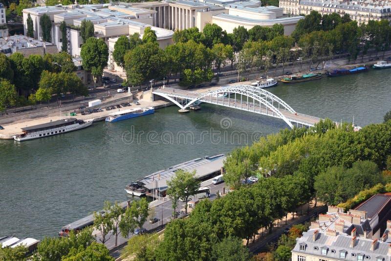 塞纳河在巴黎 免版税库存图片