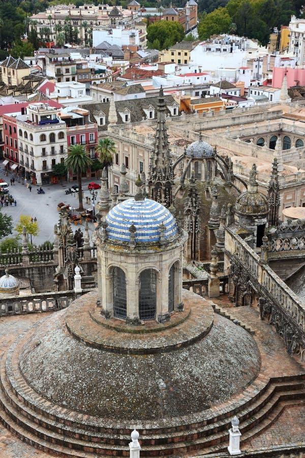 塞维利亚大教堂,西班牙 库存图片