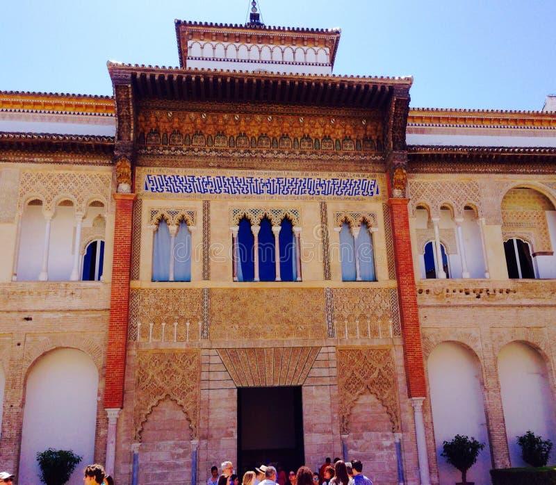 塞维利亚阿尔罕布拉宫 库存照片