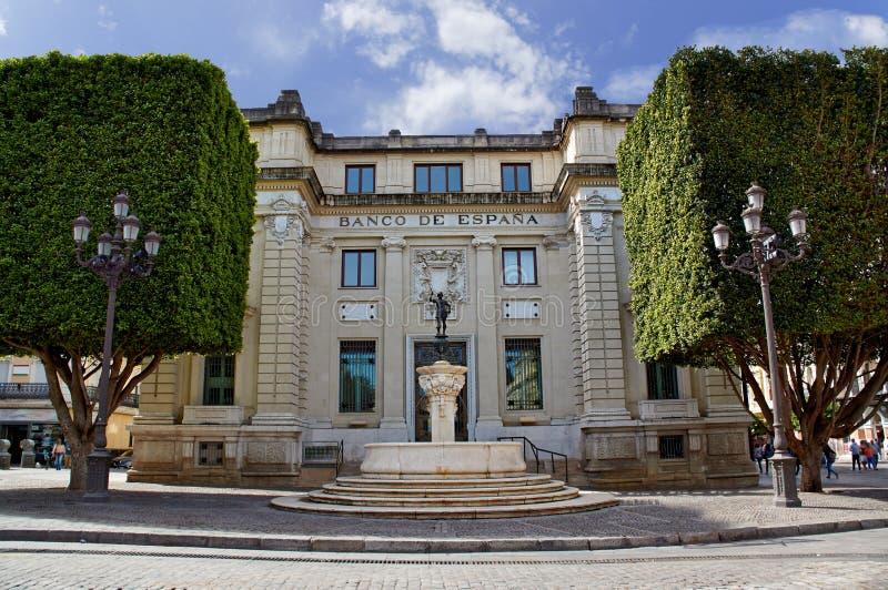 塞维利亚,西班牙的历史建筑和纪念碑 西班牙建筑风格哥特式和Mudejar,巴洛克式 免版税库存图片